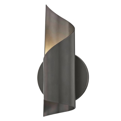 Mitzi by Hudson Valley Mid-Century Modern LED Sconce Bronze Mitzi Evie by Hudson Valley H161101-OB