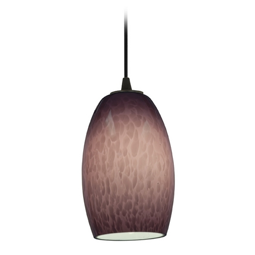 Access Lighting Access Lighting Tali Chianti Oil Rubbed Bronze Mini-Pendant with Oblong Shade 28078-2C-ORB/PLC