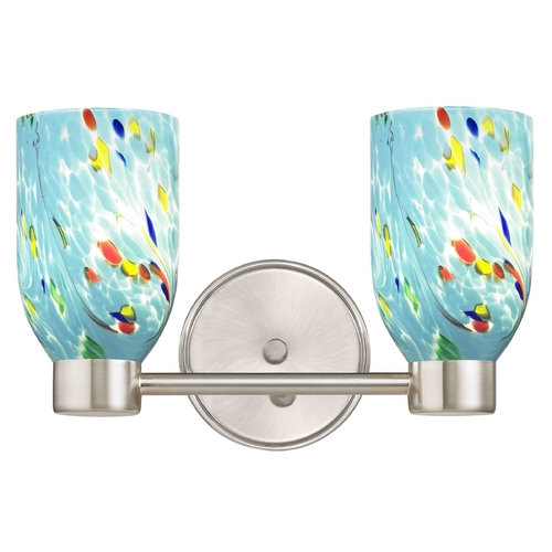 Design Classics Lighting Design Classics Aon Fuse Satin Nickel Bathroom Light 1802-09 GL1021D
