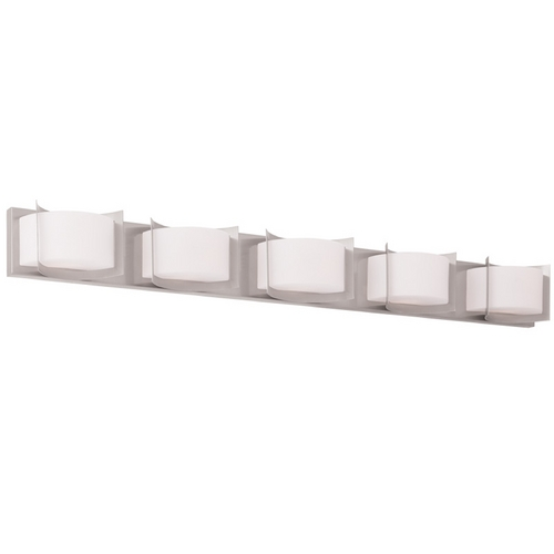 Livex Lighting Livex Lighting Wave Brushed Nickel Bathroom Light 1615-91