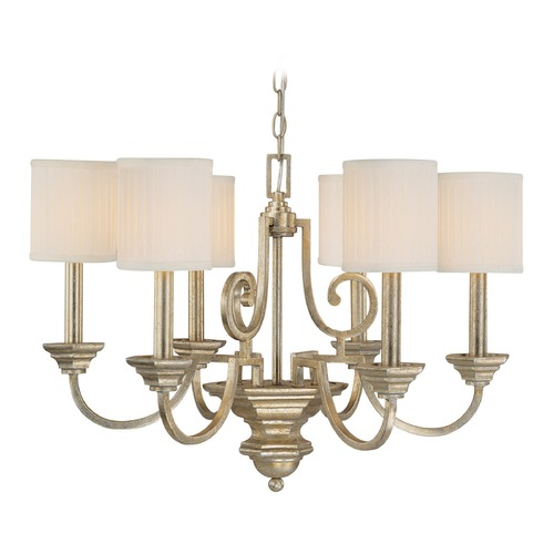 Capital Lighting Capital Lighting Fifth Avenue Winter Gold Chandelier 4006WG-484