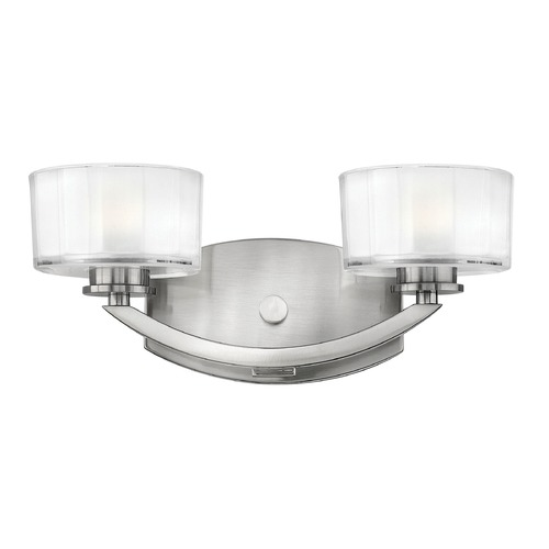 Hinkley Lighting Hinkley Lighting Meridian Brushed Nickel LED Bathroom Light 5592BN-LED