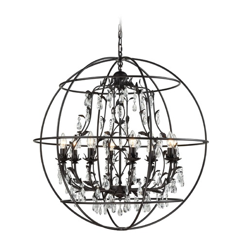 Elk Lighting Elk Lighting Bridget Oil Rubbed Bronze Chandelier 18225/8