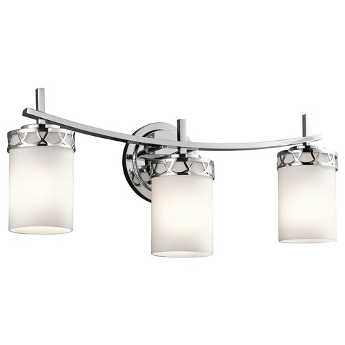 Kichler Lighting Kichler Lighting Marlowe Chrome Bathroom Light 45586CH