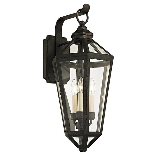 Troy Lighting Troy Lighting Calabasas Vintage Bronze Outdoor Wall Light B6373