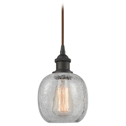Innovations Lighting Innovations Lighting Belfast Oil Rubbed Bronze Mini-Pendant Light with Globe Shade 516-1P-OB-G105