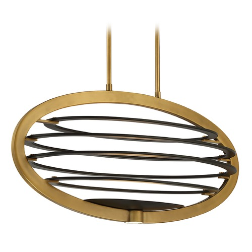 Eurofase Lighting Eurofase Lighting Ombra Brass / Black LED Pendant Light 38153-013