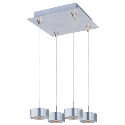 ET2 Lighting Modern Low Voltage Multi-Light Pendant Light 4-Lights E94708-09SN