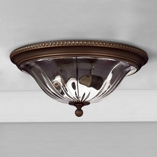 Hinkley 16-1/4-Inch Flushmount Ceiling Light 3616OB
