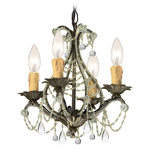 Crystorama Lighting Crystorama Lighting Paris Market Birch Crystal Chandelier 4714-BI-CL-MWP