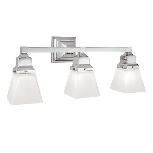 Norwell Lighting Norwell Lighting Birmingham Chrome Bathroom Light 8123-CH-SQ