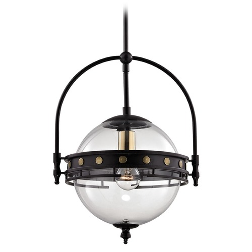 Elk Lighting Elk Lighting Encompass Oil Rubbed Bronze Pendant Light with Globe Shade 14261/1