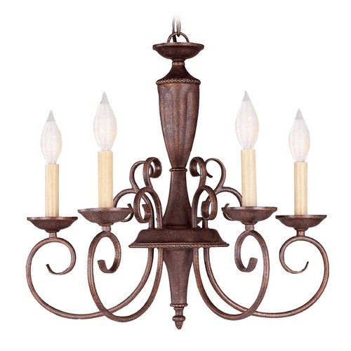 Savoy House Savoy House Walnut Patina Mini-Chandelier KP-1-5005-5-40