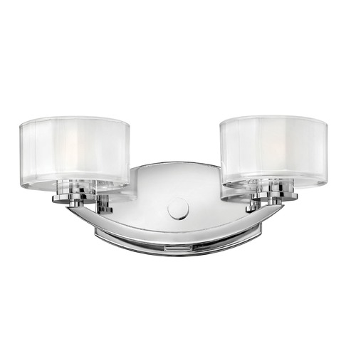 Hinkley Lighting Hinkley Lighting Meridian Chrome LED Bathroom Light 5592CM-LED