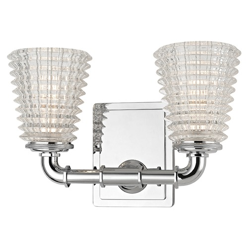 Hudson Valley Lighting Westbrook 2 Light Bathroom Light - Polished Chrome 6222-PC