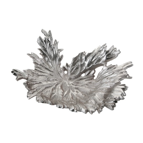 Dimond Home Nickel Star Leaf Bowl 468-048