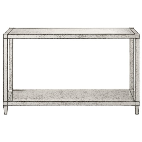 Currey and Company Lighting Currey and Company Monarch Silver Accent Table 3000-0010