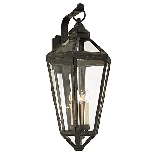 Troy Lighting Troy Lighting Calabasas Vintage Bronze Outdoor Wall Light B6374