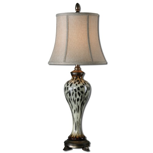 Uttermost Lighting Uttermost Malawi Cheetah Print Buffet Lamp 29926