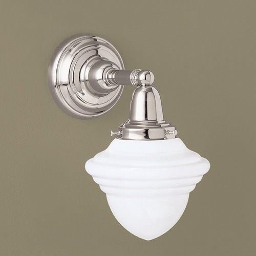 Norwell Lighting Norwell Lighting Bradford Brush Nickel Sconce 8201-BN-AC
