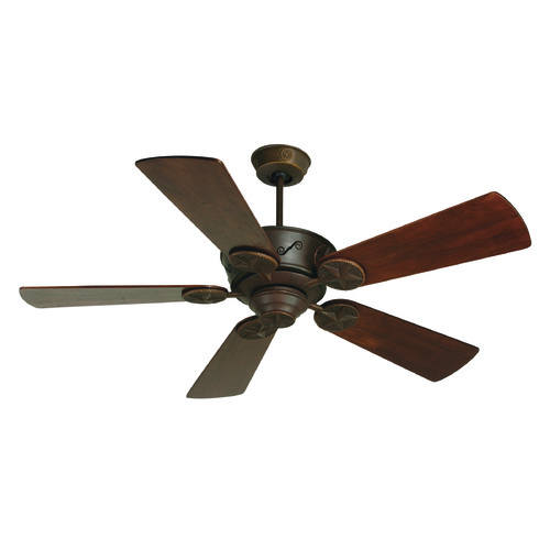 Craftmade Lighting Craftmade Lighting Chaparral Aged Bronze Textured Ceiling Fan Without Light K10658
