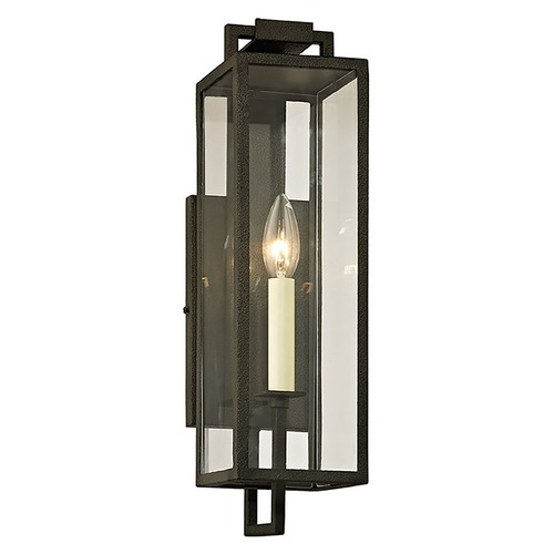 Troy Lighting Troy Lighting Beckham Forged Iron Outdoor Wall Light B6381