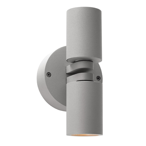 Access Lighting Outdoor Wall Light with Clear Glass in Satin Nickel Finish 20353MG-SAT/CLR