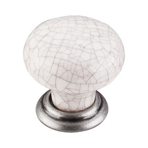 Top Knobs Hardware Cabinet Knob in Pewter Antique Finish M101