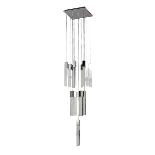 Avenue Lighting Avenue Lighting Glacier Chrome LED Multi-Light Pendant HF1905-13-LED