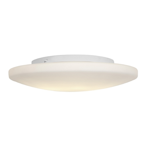 Access Lighting Access Lighting Orion White LED Flushmount Light 50162LEDD-WH/OPL