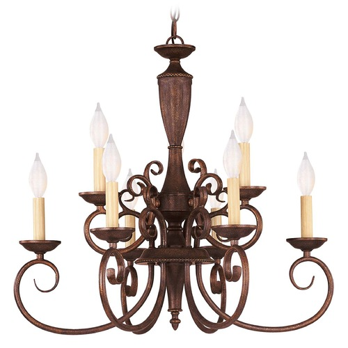 Savoy House Savoy House Walnut Patina Chandelier KP-1-5007-9-40