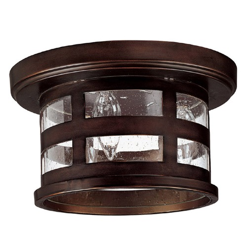 Capital Lighting Capital Lighting Mission Hills Burnished Bronze Close To Ceiling Light 9956BB