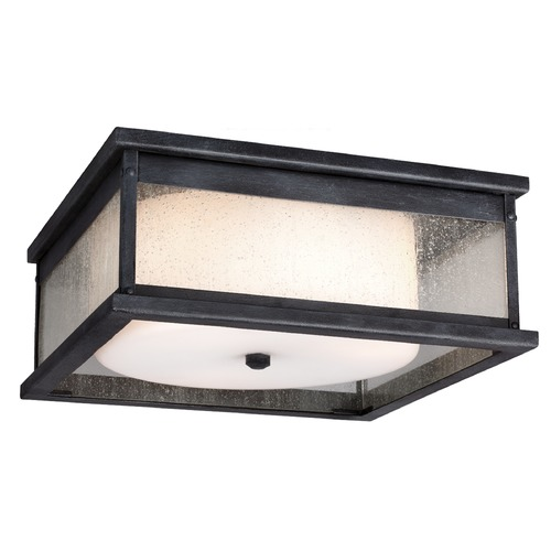 Feiss Lighting Feiss Lighting Pediment Dark Weathered Zinc Close To Ceiling Light OL11113DWZ
