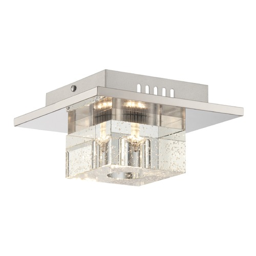 Lite Source Lighting Lite Source Galena Chrome LED Flushmount Light LS-5620