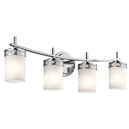 Kichler Lighting Kichler Lighting Marlowe Chrome LED Bathroom Light 45587CHL16
