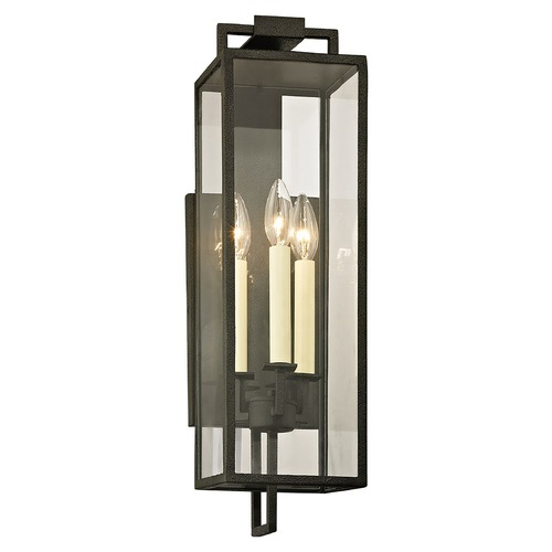 Troy Lighting Troy Lighting Beckham Forged Iron Outdoor Wall Light B6382