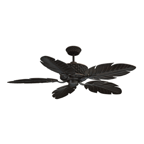 Craftmade Lighting Ceiling Fan Without Light in Aged Bronze Finish PAP52ABZ5RCDI