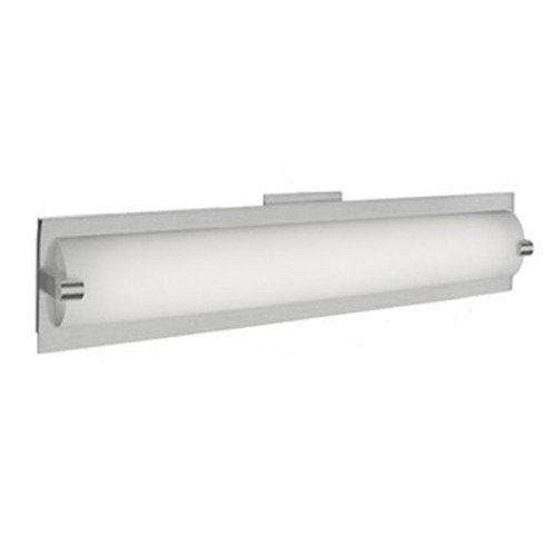 Kuzco Lighting Kuzco Simplistic Brushed Nickel LED Bathroom Light VL0118-BN