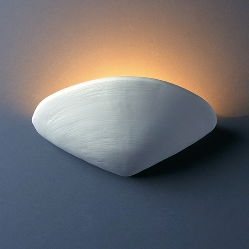 Justice Design Group Sconce Wall Light in Bisque Finish CER-3710-BIS
