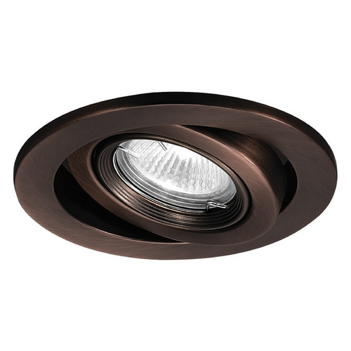 wac lighting 4 round eyeball gimbal ring copper bronze recessed trim. Black Bedroom Furniture Sets. Home Design Ideas