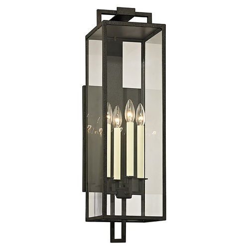 Troy Lighting Troy Lighting Beckham Forged Iron Outdoor Wall Light B6383