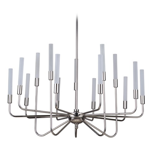 Craftmade Lighting Polished Nickel LED Chandelier 3000K 25500LM 49615-PLN-LED