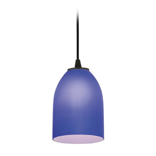 Access Lighting Access Lighting Sydney Inari Silk Oil Rubbed Bronze Mini-Pendant with Oblong Shade 28018-1C-ORB/COB