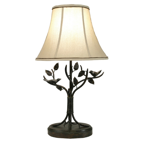 StyleCraft Stylecraft Transitional Aged Bronze Table Lamp BP8168DS