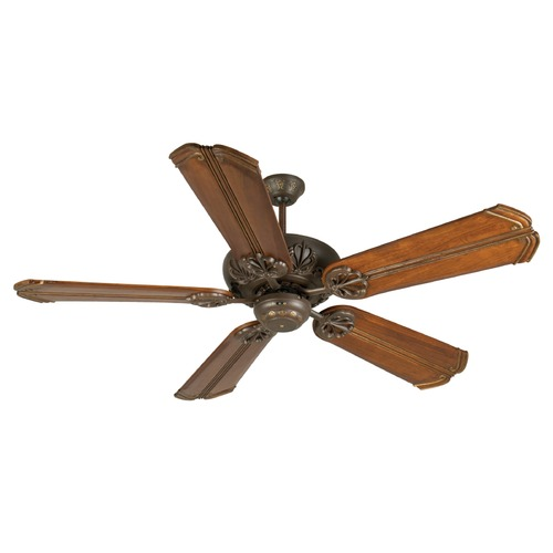 Craftmade Lighting Craftmade Lighting Cordova Aged Bronze Textured Ceiling Fan Without Light K10673