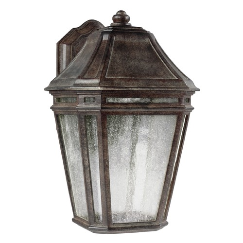 Feiss Lighting Feiss Lighting Londontowne Weathered Chestnut LED Outdoor Wall Light OL11301WCT-LED