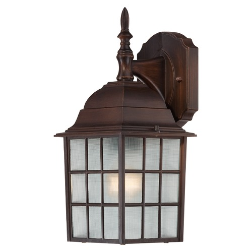 Nuvo Lighting Nuvo Lighting Adams Rustic Bronze Outdoor Wall Light 60/3481