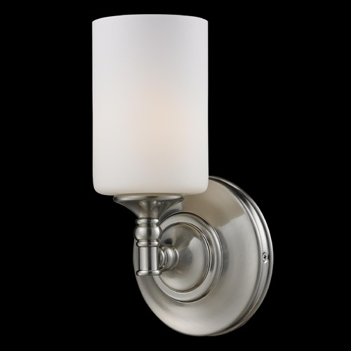 Z-Lite Z-Lite Cannondale Brushed Nickel Sconce 2102-1S