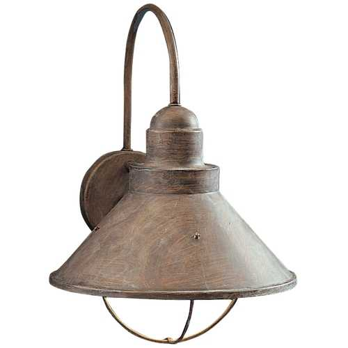 Kichler Lighting Kichler Outdoor Wall Light in Olde Brick Finish 9023OB