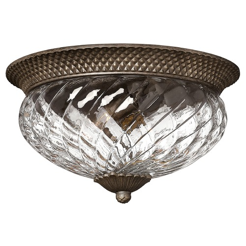 Hinkley Lighting 16-Inch Flushmount Ceiling Light 4881PZ